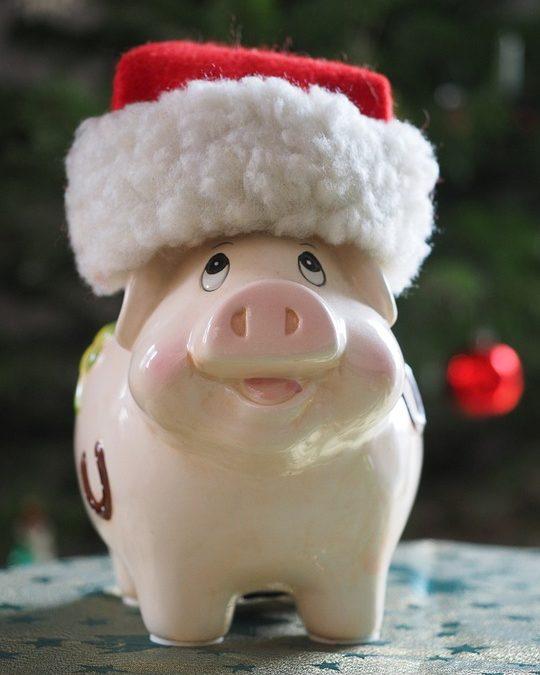 Cuenta de Banco Navidad